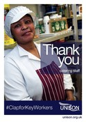 Poster - School kitchen worker