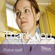 Instagram graphic - Police staff