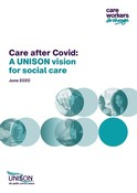 A UNISON Vision for Social Care June 2020