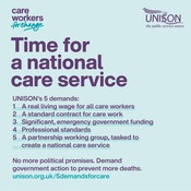 National Care Service graphic - instagram 2